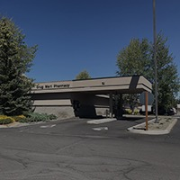 Drive through pharmacy at La Pine Community Health Center